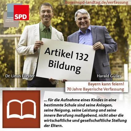 Bayerische Verfassung Bildung